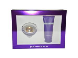Ultraviolet by Paco Rabanne for Women - 2 Pc Gift Set 2.7oz EDP Spray, 3.4oz Body Lotion