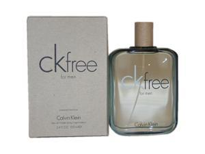 CK Free by Calvin Klein for Men - 3.4 oz EDT Spray (Tester)