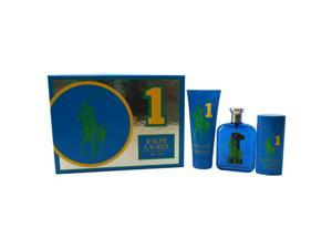 The Big Pony Fragrance Collection # 1 by Ralph Lauren for Men - 3 Pc Gift Set 4.2oz EDT Spray, 6.7oz Hair & Body Wash, 2.93oz Alcohol-Free Deodorant