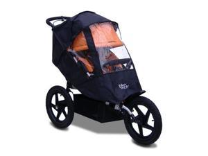 Tike Tech X3 Sport Single Stroller Cover (Black)