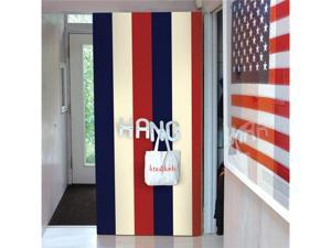WallCandy Arts Removable Wallpaper (Stripes Americana) - Full Kit