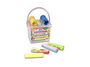 Sidewalk Chalk Set (20 Pack) by Alex Toys