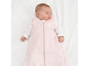 HALO® SleepSack™ Plush Dot Velboa (Pink) - Medium