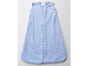 HALO® SleepSack™ Plush Dot Velboa (Blue) - Medium