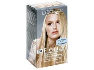 L'Oreal Feria Multi-Faceted Shimmering Colour, Level 3 Permanent, Very Light Beige Blonde 110