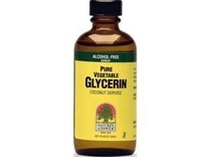 Vegetable Glycerine - Nature's Answer - 4 oz - Liquid