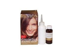 Revlon ColorSilk Permanent Color, Light Brown 51