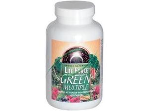 Life Force Green Multiple - Source Naturals, Inc. - 180 - Tablet