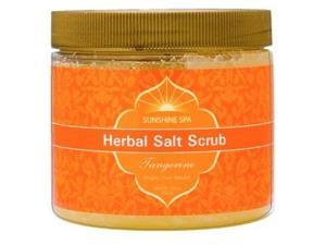 Herb Salt Scrub-Tangerine - Sunshine Spa - 23 oz - Scrub