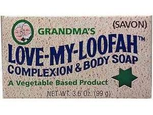 Love-My-Loofah Soap - Grandpa Soap Company - 3 oz - Bar