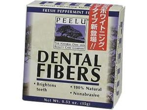 Dental Fibers Peppermint Toothpowder - Peelu - .53 oz. - Powder