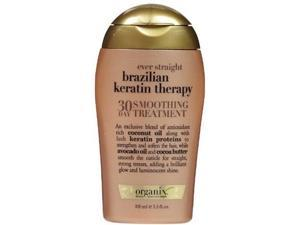 Organix Ever Straight Brazilian Keratin Therapy 30 Day Smoothing Treatment, 3.3 Ounce