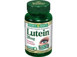 Nature's Bounty Lutein 20mg, 30 Softgels (Pack of 2)