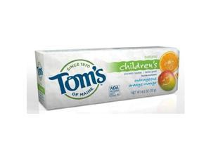 Toms Of Maine, Tthpaste Anticv Orng Mngo, 4.2 OZ ( Value Bulk Multi-pack)