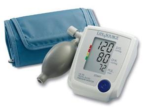 LifeSource UA-705VL Advanced Manual Inflate Blood Pressure Monitor with Large...
