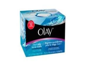OLAY 2-IN-1 CLOTHS COMBO/OILY Size: 33