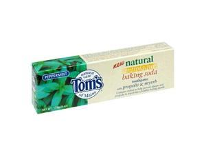 Toothpaste-Peppermint Baking Soda With Propolis/Myrrh Fluoride free - Tom's Of Maine - 5.5 oz - Paste
