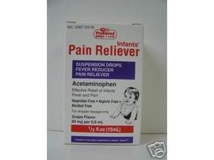 Acetaminophen Suspension Drops for Children - 15 Ml