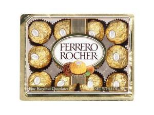 Ferrero Rocher Fine Hazelnut Chocolate 5.3oz