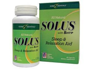 Form Essentials All Natural Solus Sleep  #38; Relaxation Aid, 60 capsules Bottle