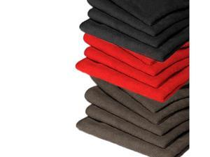 "GarageMate 10 Pack MicroFiber - Combo Colors (Black / Charcoal / Red) - 12"" x 16"" Towel"