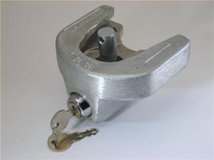"HitchMate Trailer Coupler Lock #6030- Fits 1-7/8"" and 2"" lip-engaging, trigger style couplers. Maximum lip width: 3-3/4"""