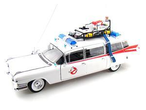 ECTO-1 From Ghostbusters Elite Edition 1/18 White