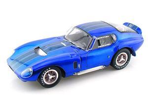 1965 Shelby Cobra Daytona Coupe 1/18 Metallic Blue w/Blue Stripes