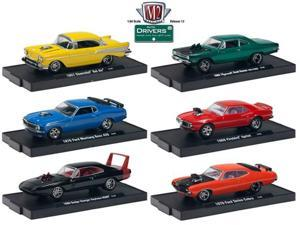 M2 Drivers Set of 6 Vehicles 1/64 Wave 13
