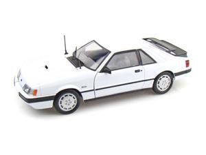 1986 Ford Mustang SVO 1/18 White
