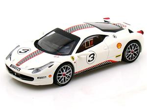 Ferrari 458 Challenge #3 Elite 1/43 White