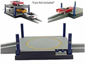 Battery Operated Car Lift / Carpark turntable For 1/24 Scale Cars