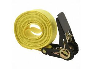 Yellow Jacket 15' Ratchet Tie Down 1500lb Load Capacity Strap