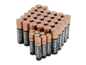 Duracell 32 (AA) + 8 (AAA) Copper Top Alkaline Batteries