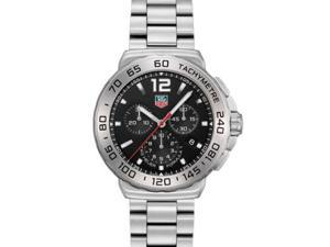 Tag Heuer Formula 1 Chronograph Black Dial Steel Mens Watch CAU1112.BA0858