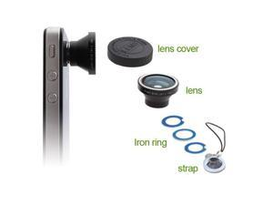 180° Fisheye Lens for Apple iPhone 5 iPhone 4 iPhone4S Nano 4G