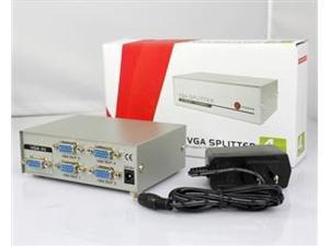 4-port VGA Splitter 1 PC to 4-Port Splitter