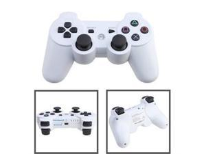 Wireless Bluetooth Game Controller for PS3/PlayStation 3 - White