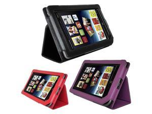 Leather Cover Case Stand for Barnes & Noble Nook Tablet