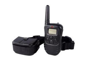 AGPtek DC2-2 Professional 100-Level Shock/Vibration LCD Remote Electric Pet Training Collar