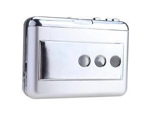 Portable USB handheld LP/Vinyl Tape to PC DUAL Hybrid Cassette-to-MP3 Converter Capture Player