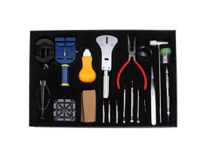20-Piece Deluxe Watch Repair Tool Kit