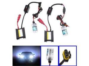 AGPtek 6000K Car HID H4 Bulb kit + 2 Ballasts - 35Watt/12V - Diamond White - High Intensity Discharge XENON Bulb