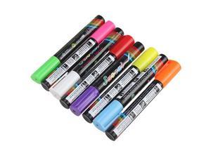 8 pcs Highlighter Fluorescent Liquid Chalk Marker Pen for LED Writing Board