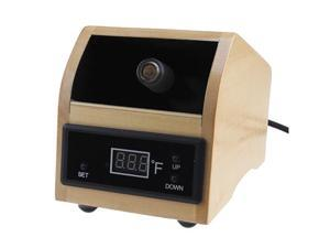 Easy Use Herbal Vaporizer w/ Digital Display - Wood Color