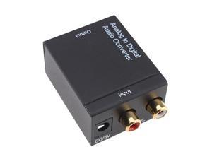 Analog to Digital Optical Audio Cable Converter Adapter