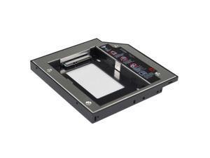 12.7mm Universal SATA TO SATA 2ND HARD DRIVE Caddy for Lenovo SL300/SL400/SL500, Dell E5400/E5500, HP 2230s/8730w/NC6000/NC8000/NW8000/NX5000-After-Market ...