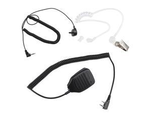 Remote Speaker Mic for Kenwood UHF VHF Portable Radio Lapel Shoulder Mic