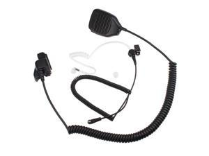 Lapel Shoulder Speaker Mic for Motorola HT-1000,GP-900, MX-838/1000,MTS-2000, XTS-3000,EF Johnson 51SL/5000/5100/7700 Series