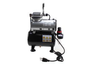New Powerful Airbrush Air Compressor w-3.5L Tank Air Regulator-Filter Free Hose